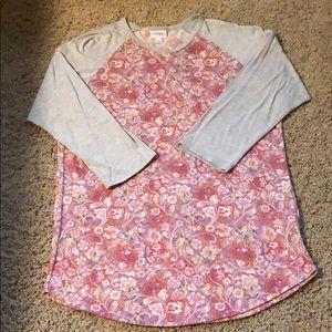 Lularoe Floral Randy Size Lg.